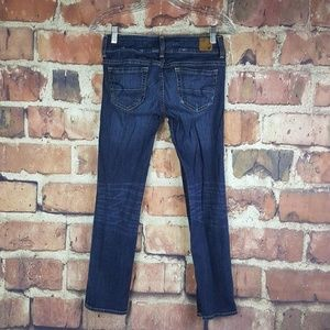 American Eagle Artist Jeans Cropped Size 0 Stretch